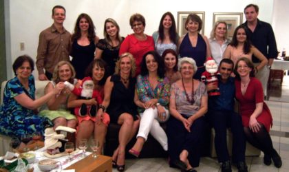 Jantar de Natal do grupo GAE – PUCPR